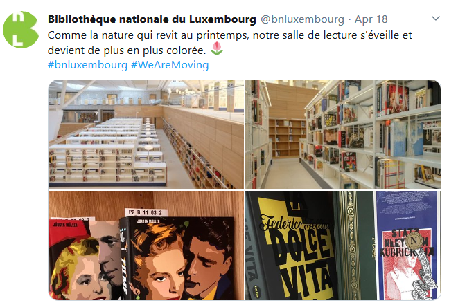 Screenshot 2019 5 10 Bibliothèque nationale du Luxembourg bnluxembourg Twitter