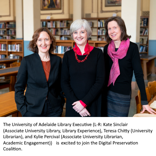UniversityOfAdelaide LibraryExecutive caption1