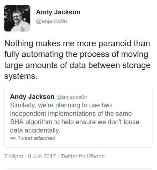 Andy Jackson on Data