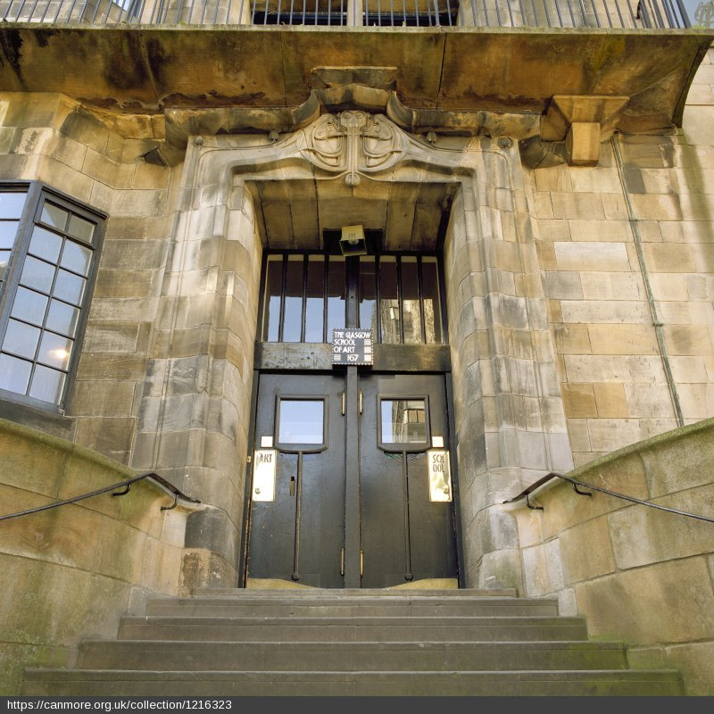 Glasgow School of Art entrance