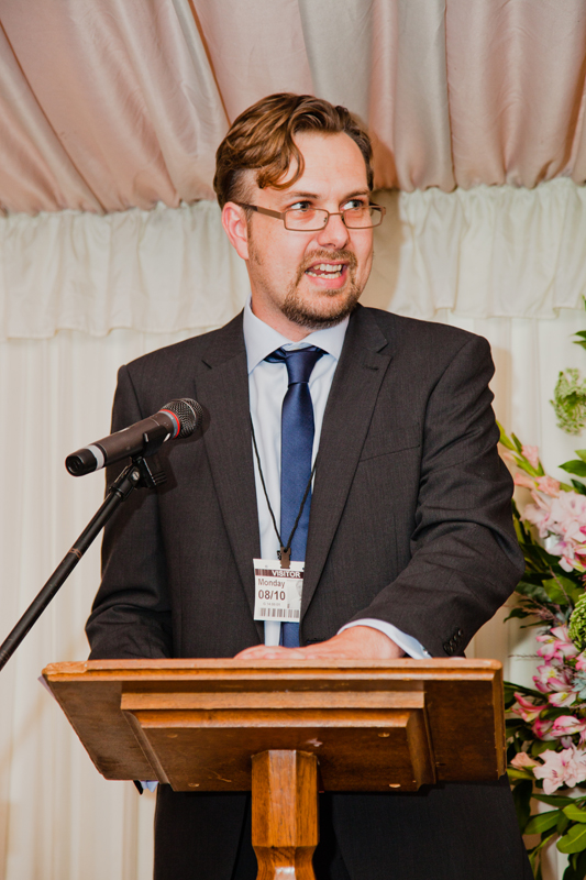 Ant Miller, chair of the judges, announces the finalists at the House of Lords