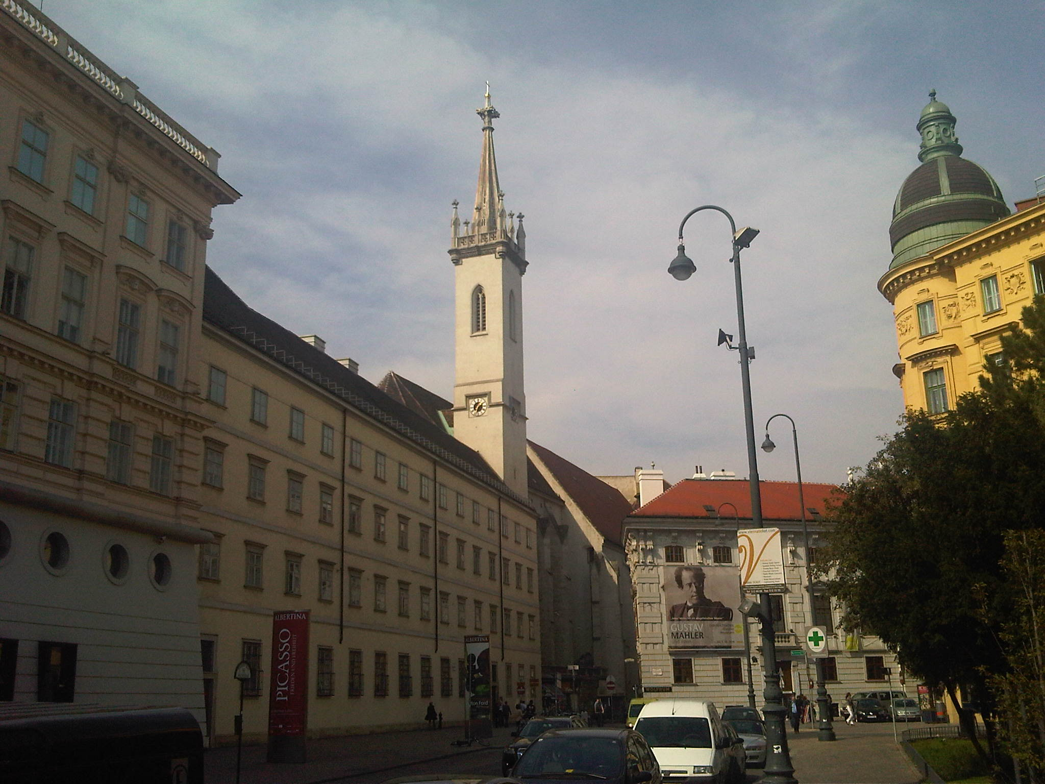 The Augustiner Kirche at the Hofburg Palace